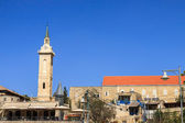 Panorama Ein Kerem, with belfry of John the Baptist, Jerusalem — Stock Photo