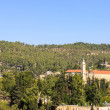 Ein Kerem, with belfry of John the Baptist, Jerusalem — Stock Photo #35403217