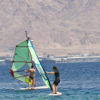 Windsurfen — Stockfoto