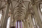 Interior of church in Munster — Stock Photo