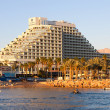 Stock Photo: Eilat, Israel - 23, April 2011: Hotel in Eilat