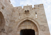 Jaffa gate in Jerusalem — Stockfoto