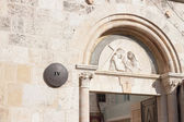 The street Via dolorosa, 4th Station of the Cross — Stok fotoğraf