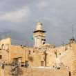 Minaret near Wailing Wall — Stock Photo #39902281