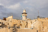 Minaret near Wailing Wall — Stock Photo