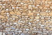 Ruine mur de pierre — Photo