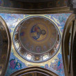 Painted ceiling dome Holy Sepulcher — Stock Photo #40892679