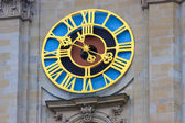 Tower clock in St. Gallen — Stock Photo