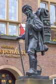 Monument to German Peddler — Stock Photo