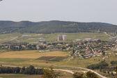 Panorama of wide valley near Beit Shemesh — Stock Photo