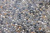 Gravel aggregate — Stock Photo