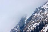 Highest peak of the Alpine mountains — Stockfoto