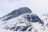 Wysokości szczyt alp — Zdjęcie stockowe