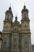 Cathedral in St. Gallen — 图库照片