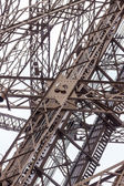 Architectural detail of the design of the Eiffel Tower — Stock Photo