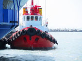 Red Tug Boat — Stock fotografie