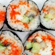 Royalty-Free Stock Photo: Japanese rolls close up