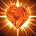Burning heart — Stock Photo #13821517