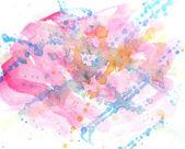 Přímé abstraktní akvarel — Stock fotografie