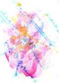 Spot watercolor abstract — Stock Photo