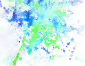 Abstract blue watercolor — Stock Photo