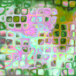 Background with out of focus light dots in green — Zdjęcie stockowe #14135822