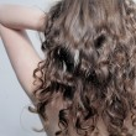 Beautiful long wavy hair. back — Stock Photo #14402953
