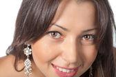 Mooie lachende vrouw — Stockfoto