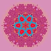 Motif oriental mandala — Vecteur