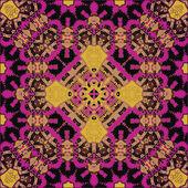 Oriental traditional ornament motif — Stock Vector