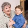 Grandmother with grandson — Stock Photo #22241795