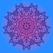 Oryantal mandala motifi — Vector de stock