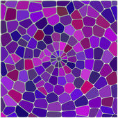 Colored mosaic background. Spiral — Stock Vector
