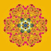 Oriental mandala motif — Vector de stock