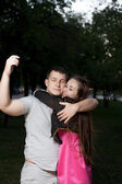 Young couple in love — Foto de Stock
