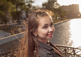 Summer girl portrait. — Stock Photo