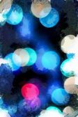 Astratto sfondo grunge blu — Foto Stock