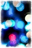 Grunge blue abstract background — Stock Photo