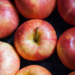 Many apples fresh apple - abstract natural background — Stock Photo