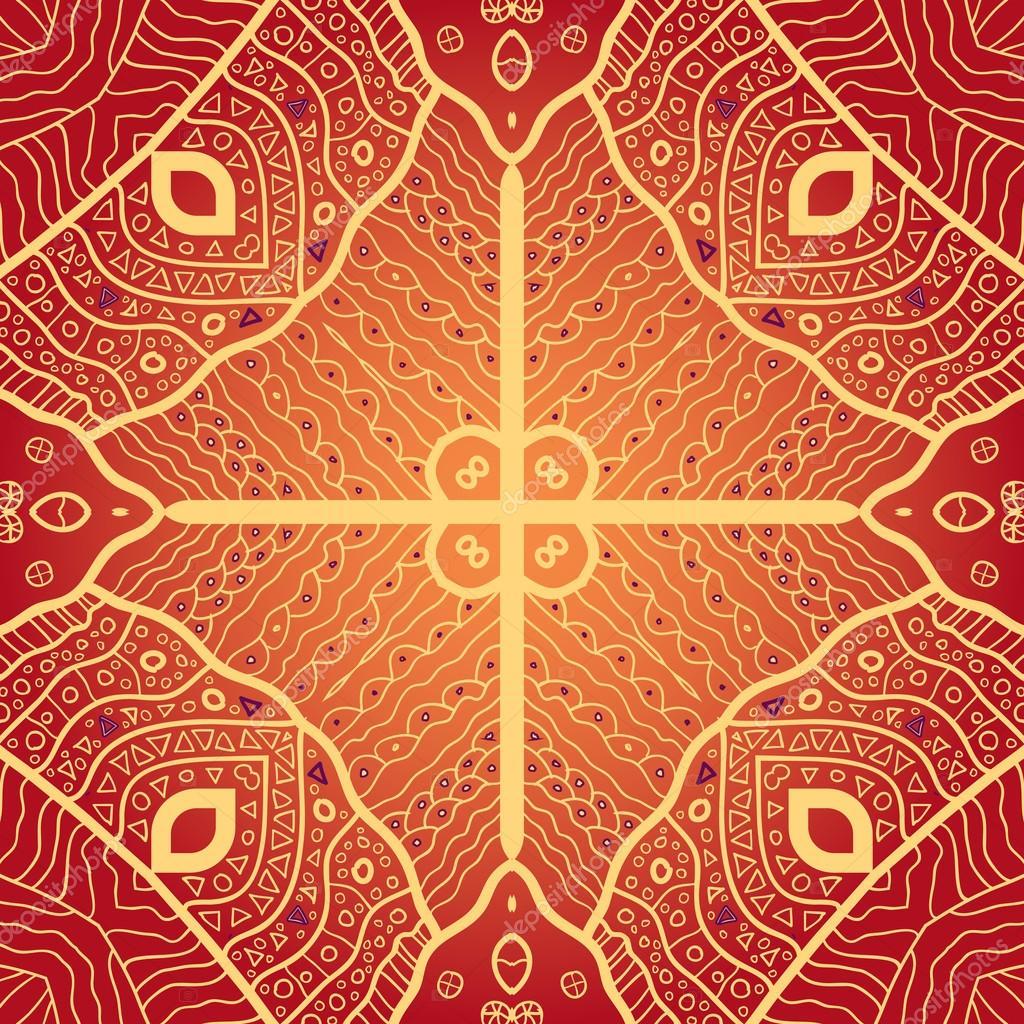 矢量无缝模式.现代时尚纹理.重复虚线菱形几何瓷砖