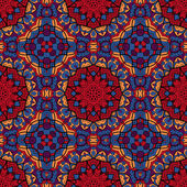 Echt cool abstracte naadloze textuur vol met heldere kleur — Stockfoto