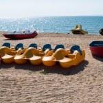 Beach boats — Stock Photo #35840189