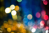 Xmas bokeh — Stock Photo