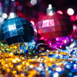 Stock Photo: Xmas ball bokeh