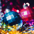 Stockfoto: Xmas ball bokeh