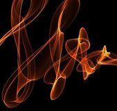 Ilustracja ogień streszczenie — Zdjęcie stockowe
