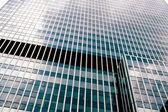 Glass wall of skyscraper — Stock Photo