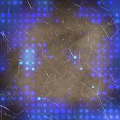 синяя точка на фоне шероховатый — Стоковое фото