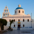 Church of the island of Santorini — Lizenzfreies Foto