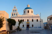 Church of the island of Santorini — 图库照片
